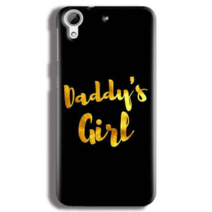 HTC Desire 626 Mobile Covers Cases Daddys girl - Lowest Price - Paybydaddy.com