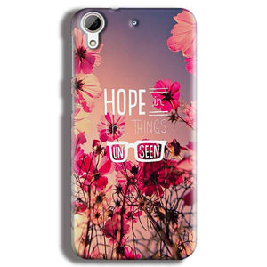HTC Desire 626 Mobile Covers Cases Hope in the Things Unseen- Lowest Price - Paybydaddy.com