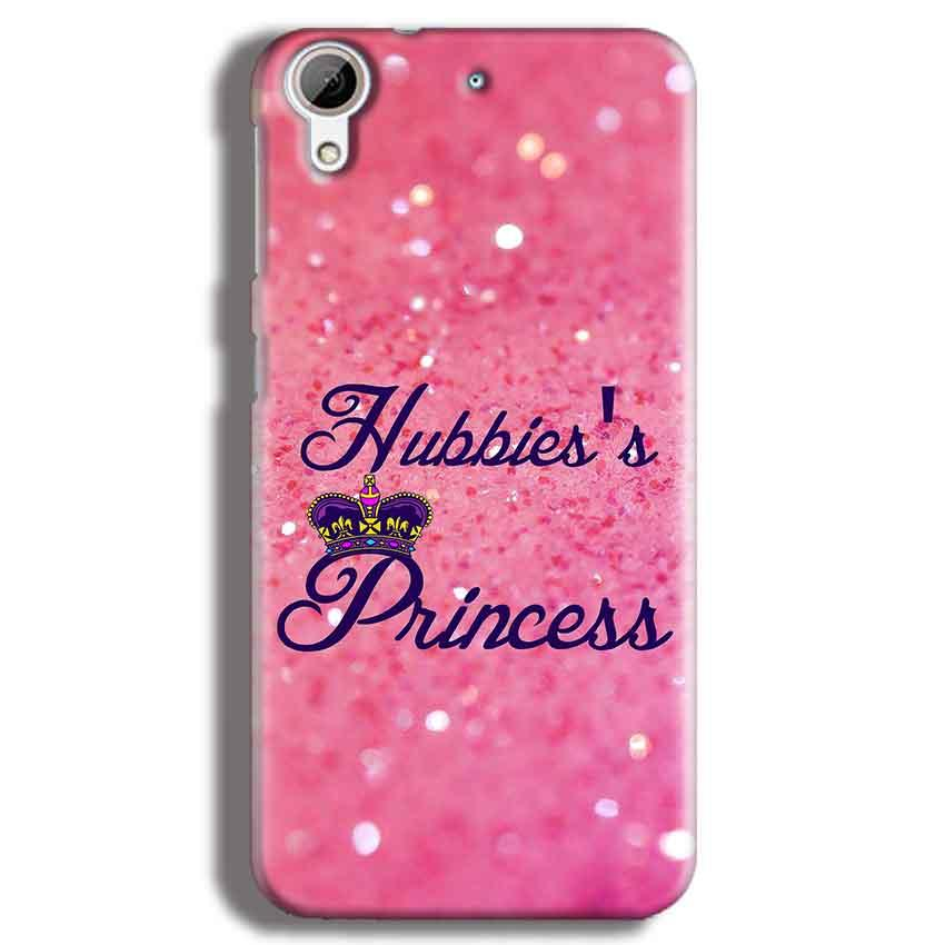 HTC Desire 626 Mobile Covers Cases Hubbies Princess - Lowest Price - Paybydaddy.com