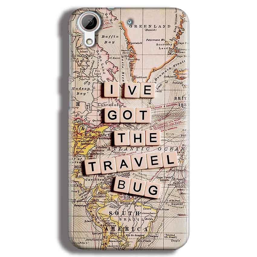 HTC Desire 626 Mobile Covers Cases Live Travel Bug - Lowest Price - Paybydaddy.com