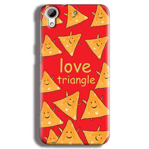 HTC Desire 626 Mobile Covers Cases Love Triangle - Lowest Price - Paybydaddy.com