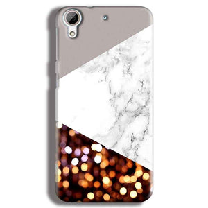 HTC Desire 626 Mobile Covers Cases MARBEL GLITTER - Lowest Price - Paybydaddy.com