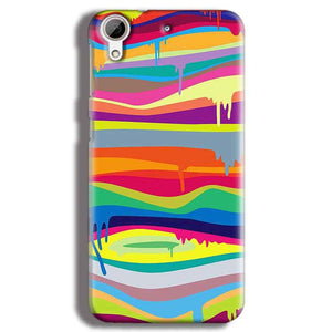 HTC Desire 626 Mobile Covers Cases Melted colours - Lowest Price - Paybydaddy.com