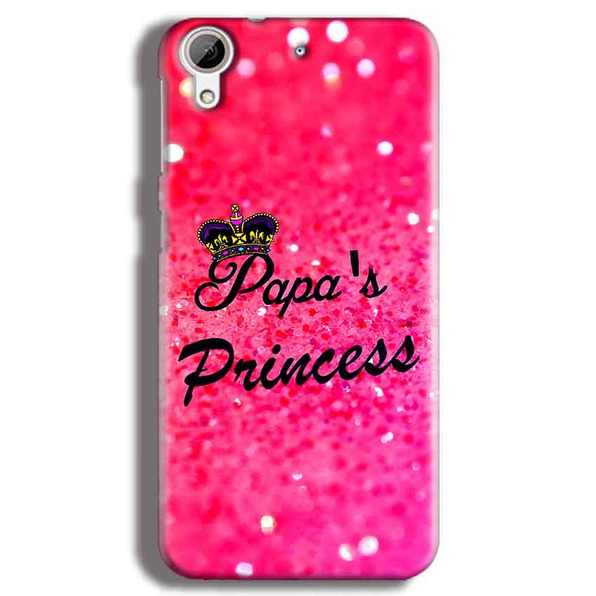 HTC Desire 626 Mobile Covers Cases PAPA PRINCESS - Lowest Price - Paybydaddy.com
