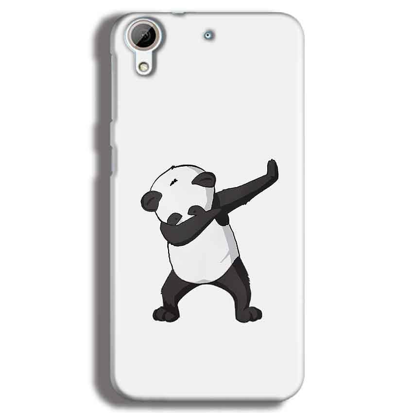 HTC Desire 626 Mobile Covers Cases Panda Dab - Lowest Price - Paybydaddy.com