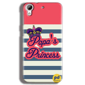 HTC Desire 626 Mobile Covers Cases Papas Princess - Lowest Price - Paybydaddy.com