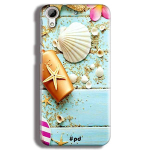 HTC Desire 626 Mobile Covers Cases Pearl Star Fish - Lowest Price - Paybydaddy.com