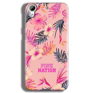 HTC Desire 626 Mobile Covers Cases Pink nation - Lowest Price - Paybydaddy.com