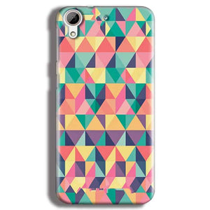 HTC Desire 626 Mobile Covers Cases Prisma coloured design - Lowest Price - Paybydaddy.com
