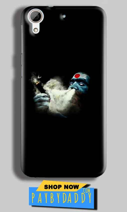 HTC Desire 626 Mobile Covers Cases Shiva Aghori Smoking - Lowest Price - Paybydaddy.com