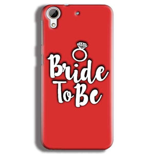 HTC Desire 626 Mobile Covers Cases bride to be with ring - Lowest Price - Paybydaddy.com