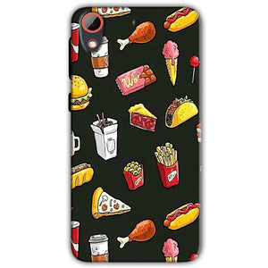 HTC Desire 628 Mobile Covers Cases Foodie Design - Lowest Price - Paybydaddy.com