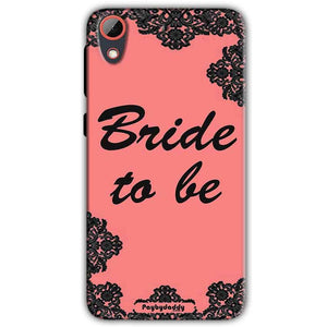 HTC Desire 628 Mobile Covers Cases Mobile Covers Cases bride to be with ring Black Pink - Lowest Price - Paybydaddy.com