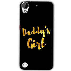 HTC Desire 630 Mobile Covers Cases Daddys girl - Lowest Price - Paybydaddy.com