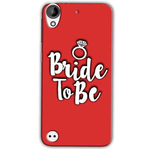 HTC Desire 630 Mobile Covers Cases bride to be with ring - Lowest Price - Paybydaddy.com