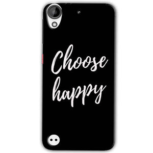 HTC Desire 630 Mobile Covers Cases Choose happy - Lowest Price - Paybydaddy.com