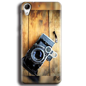 HTC Desire 728 Mobile Covers Cases Camera With Wood - Lowest Price - Paybydaddy.com