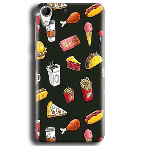 HTC Desire 728 Mobile Covers Cases Foodie Design - Lowest Price - Paybydaddy.com
