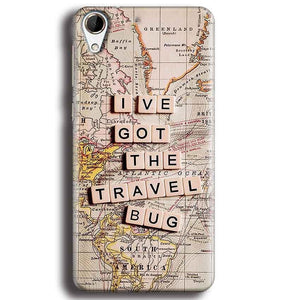 HTC Desire 728 Mobile Covers Cases Live Travel Bug - Lowest Price - Paybydaddy.com
