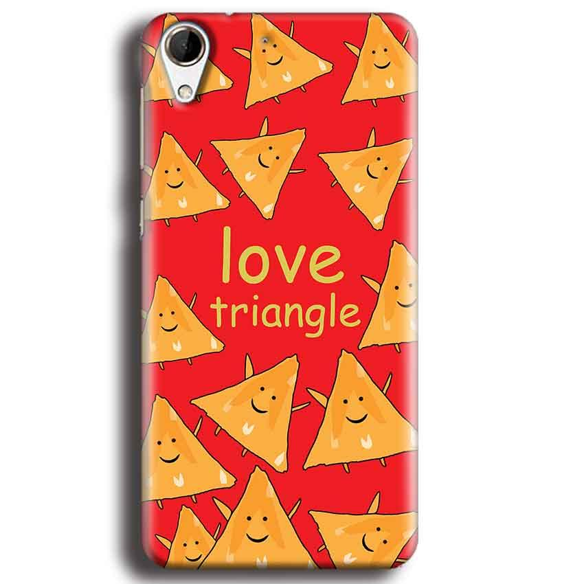 HTC Desire 728 Mobile Covers Cases Love Triangle - Lowest Price - Paybydaddy.com