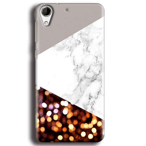 HTC Desire 728 Mobile Covers Cases MARBEL GLITTER - Lowest Price - Paybydaddy.com