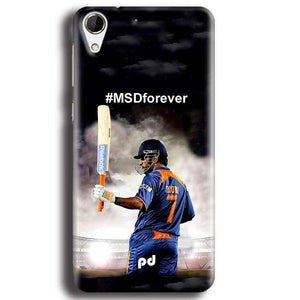 HTC Desire 728 Mobile Covers Cases MS dhoni Forever - Lowest Price - Paybydaddy.com