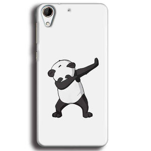 HTC Desire 728 Mobile Covers Cases Panda Dab - Lowest Price - Paybydaddy.com