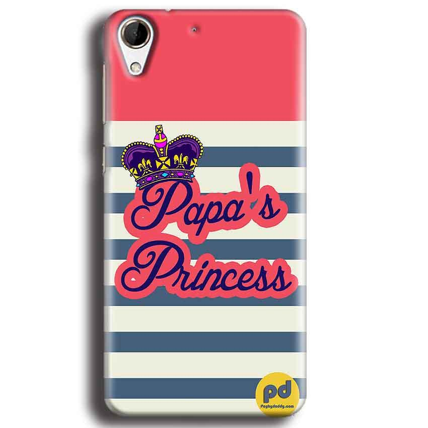 HTC Desire 728 Mobile Covers Cases Papas Princess - Lowest Price - Paybydaddy.com