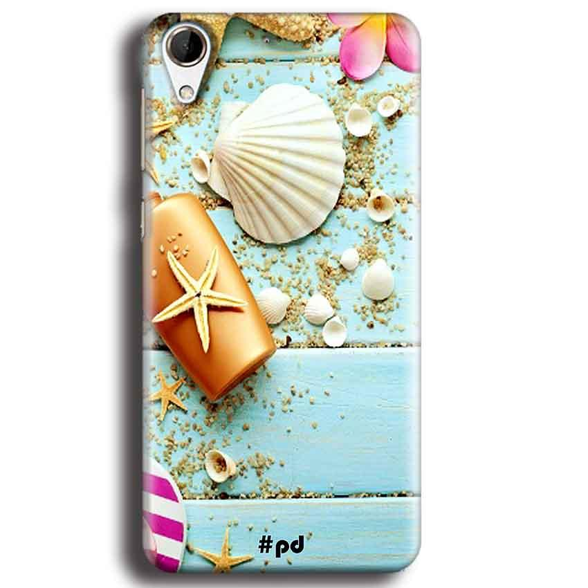 HTC Desire 728 Mobile Covers Cases Pearl Star Fish - Lowest Price - Paybydaddy.com