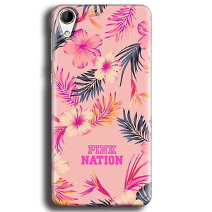HTC Desire 728 Mobile Covers Cases Pink nation - Lowest Price - Paybydaddy.com