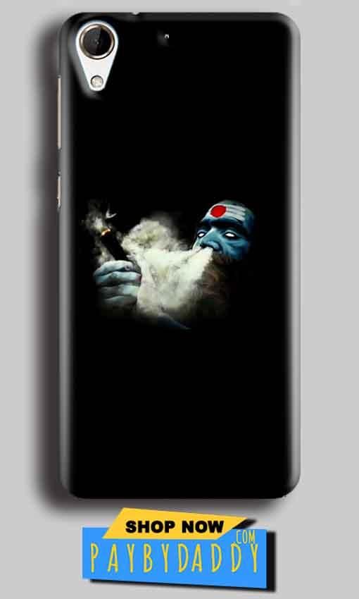 HTC Desire 728 Mobile Covers Cases Shiva Aghori Smoking - Lowest Price - Paybydaddy.com