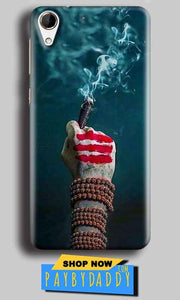 HTC Desire 728 Mobile Covers Cases Shiva Hand With Clilam - Lowest Price - Paybydaddy.com