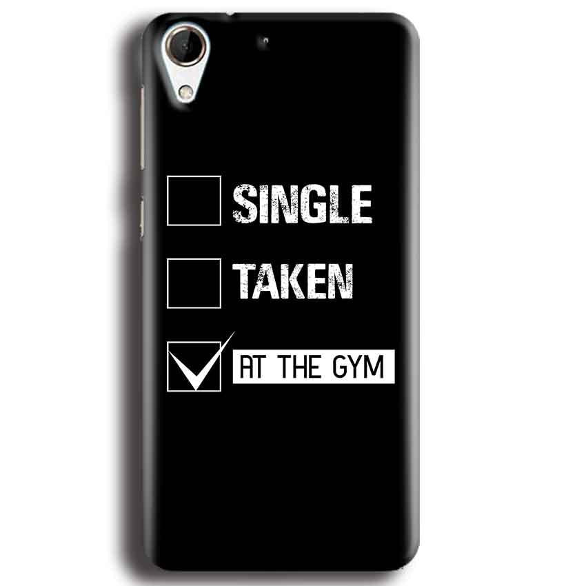HTC Desire 728 Mobile Covers Cases Single Taken At The Gym - Lowest Price - Paybydaddy.com