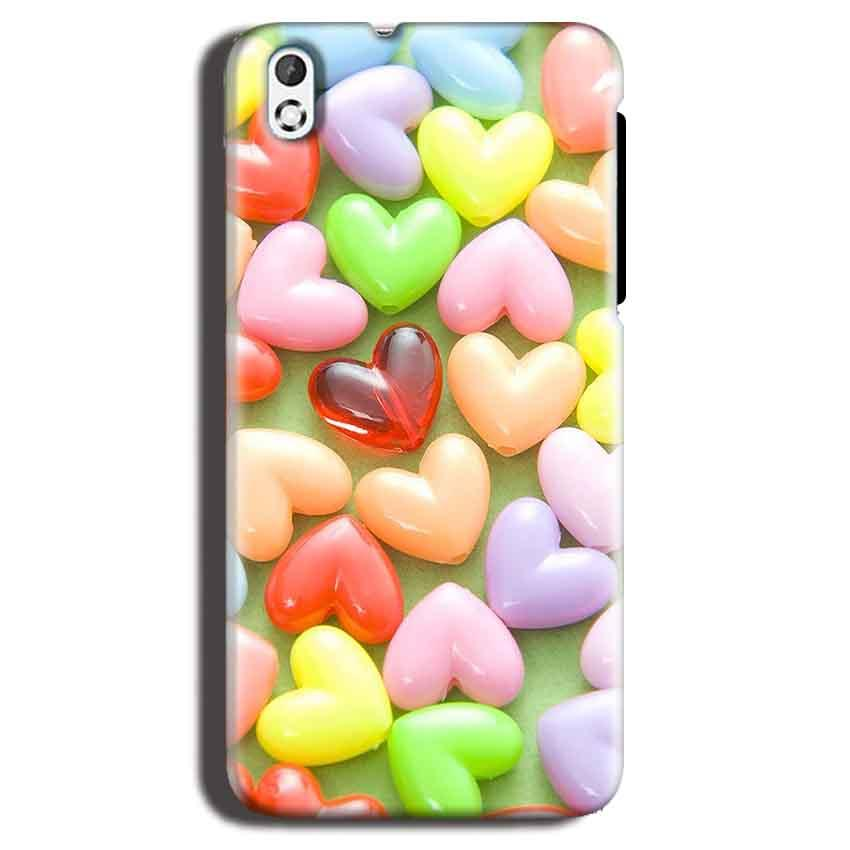 HTC Desire 816 Mobile Covers Cases Heart in Candy - Lowest Price - Paybydaddy.com