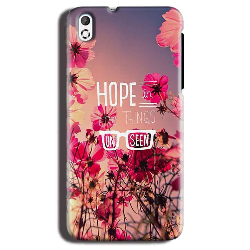 HTC Desire 816 Mobile Covers Cases Hope in the Things Unseen- Lowest Price - Paybydaddy.com
