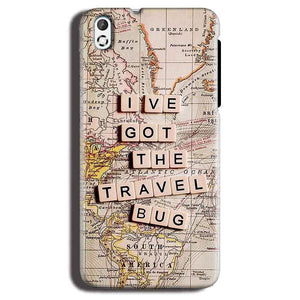 HTC Desire 816 Mobile Covers Cases Live Travel Bug - Lowest Price - Paybydaddy.com