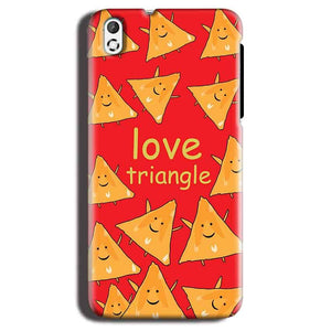 HTC Desire 816 Mobile Covers Cases Love Triangle - Lowest Price - Paybydaddy.com