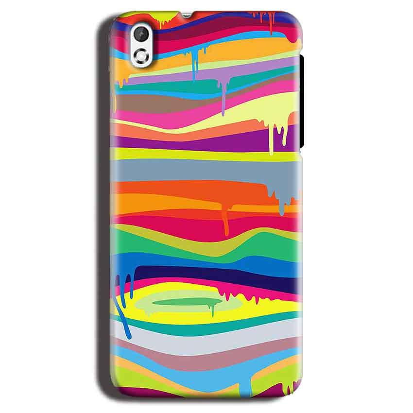 HTC Desire 816 Mobile Covers Cases Melted colours - Lowest Price - Paybydaddy.com