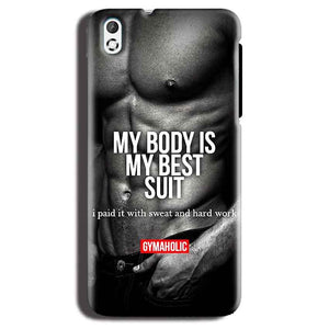 HTC Desire 816 Mobile Covers Cases My Body is my best suit - Lowest Price - Paybydaddy.com
