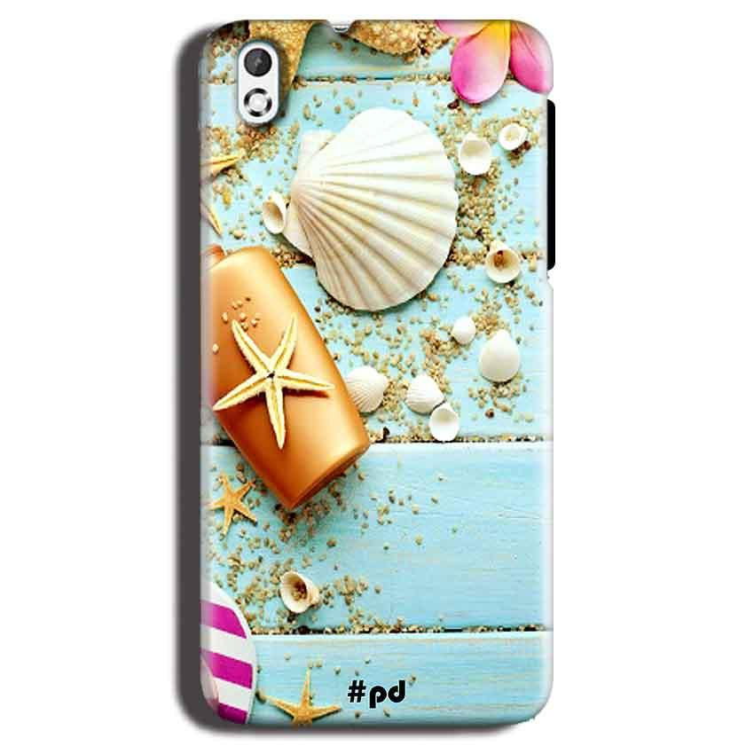 HTC Desire 816 Mobile Covers Cases Pearl Star Fish - Lowest Price - Paybydaddy.com