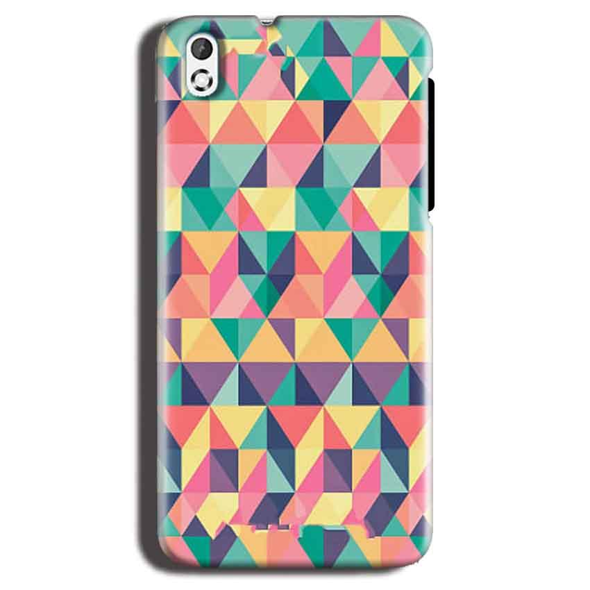 HTC Desire 816 Mobile Covers Cases Prisma coloured design - Lowest Price - Paybydaddy.com