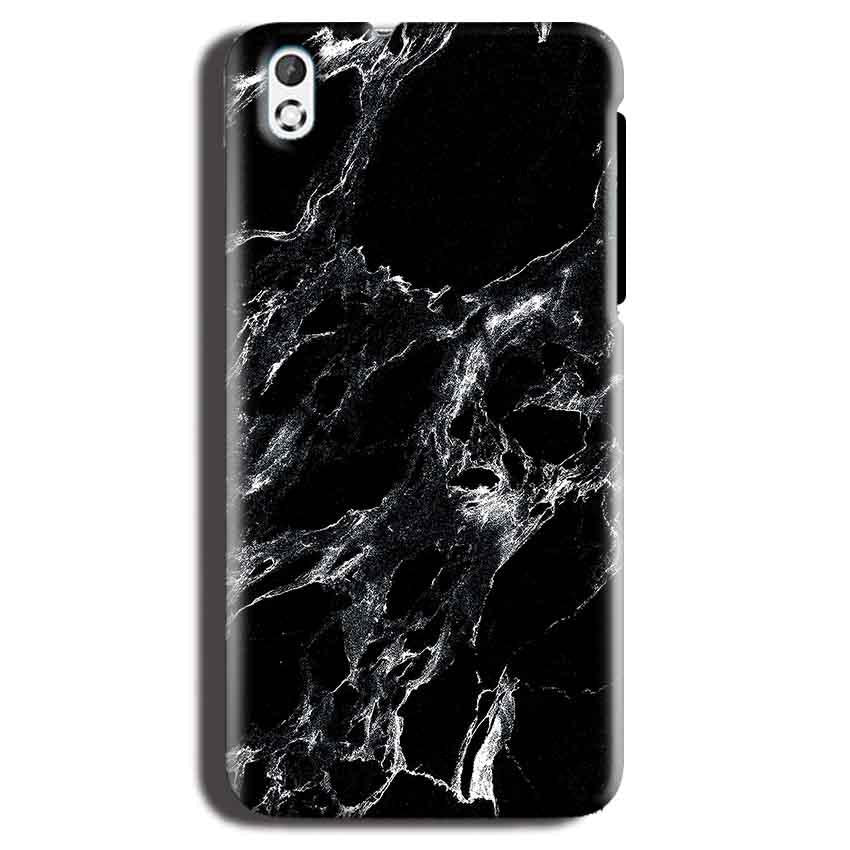 HTC Desire 816 Mobile Covers Cases Pure Black Marble Texture - Lowest Price - Paybydaddy.com