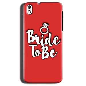 HTC Desire 816 Mobile Covers Cases bride to be with ring - Lowest Price - Paybydaddy.com