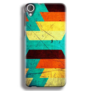 HTC Desire 820 Mobile Covers Cases Colorful Patterns - Lowest Price - Paybydaddy.com