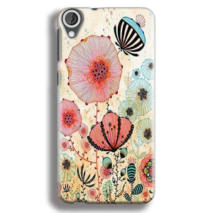 HTC Desire 820 Mobile Covers Cases Deep Water Jelly fish- Lowest Price - Paybydaddy.com