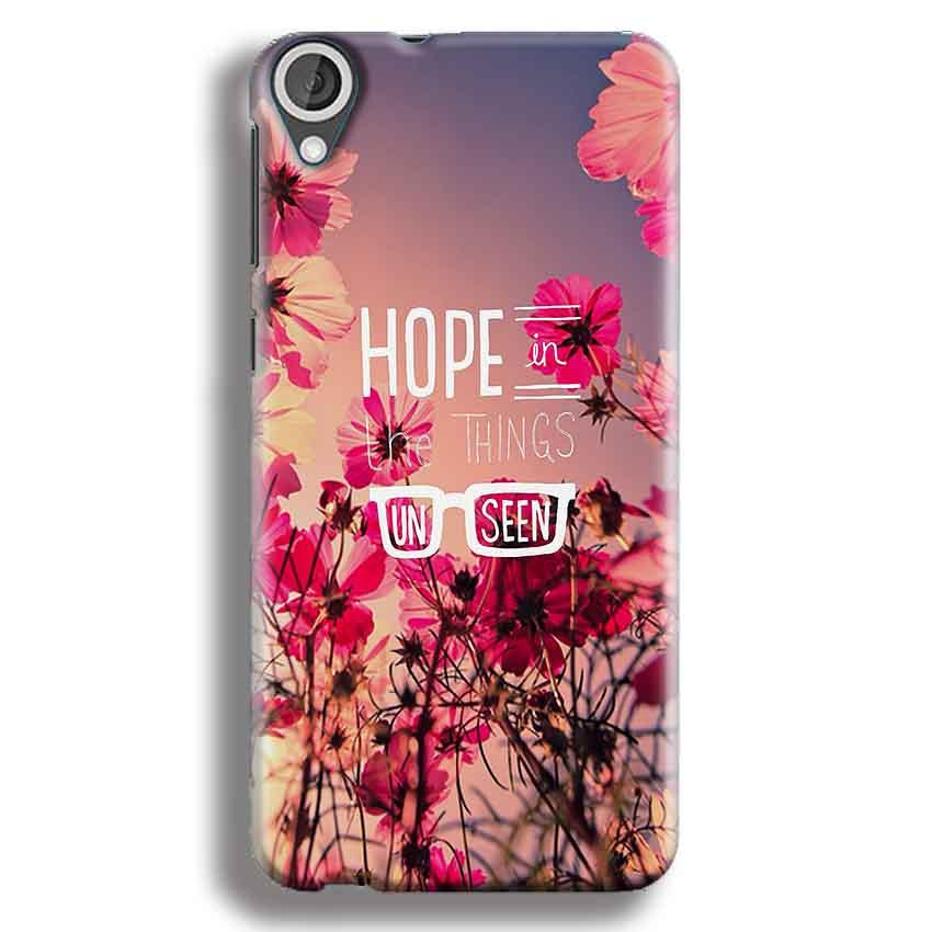 HTC Desire 820 Mobile Covers Cases Hope in the Things Unseen- Lowest Price - Paybydaddy.com
