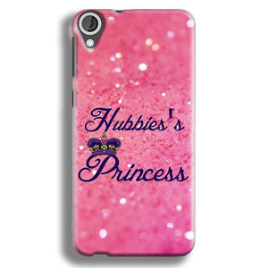 HTC Desire 820 Mobile Covers Cases Hubbies Princess - Lowest Price - Paybydaddy.com