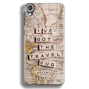 HTC Desire 820 Mobile Covers Cases Live Travel Bug - Lowest Price - Paybydaddy.com