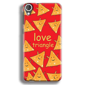 HTC Desire 820 Mobile Covers Cases Love Triangle - Lowest Price - Paybydaddy.com