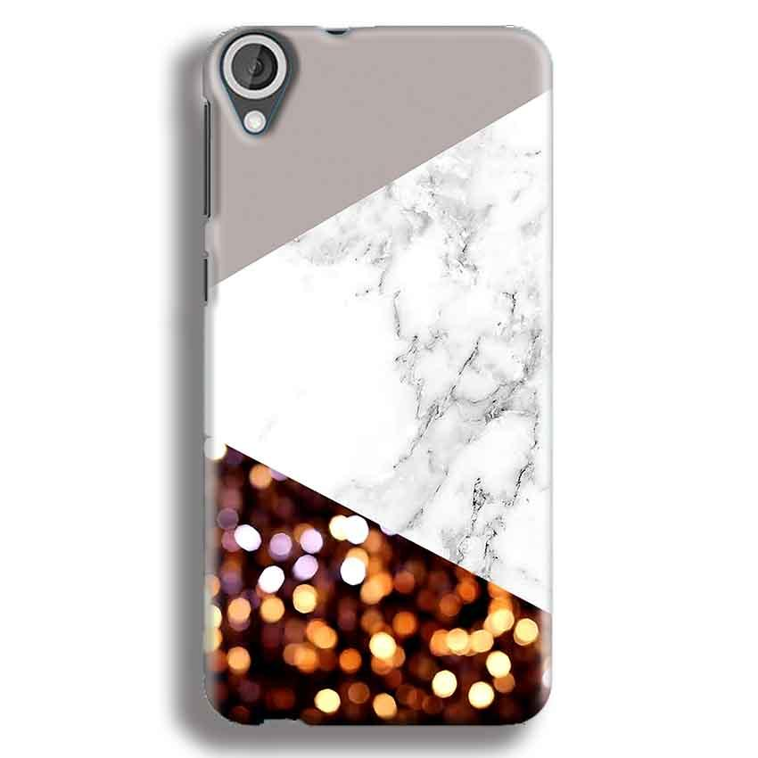 HTC Desire 820 Mobile Covers Cases MARBEL GLITTER - Lowest Price - Paybydaddy.com